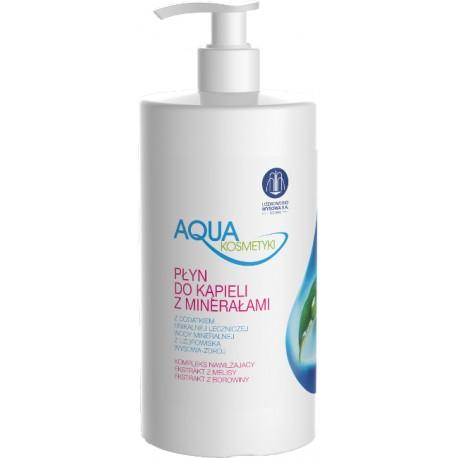 Płyn do kąpieli z minerałami Aqua