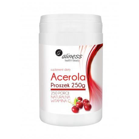 ALINESS ACEROLA PROSZEK NATURALNA WITAMINA C 250g