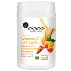 ALINESS Witamina C 1000 Buforowana Plus  Proszek 250 g