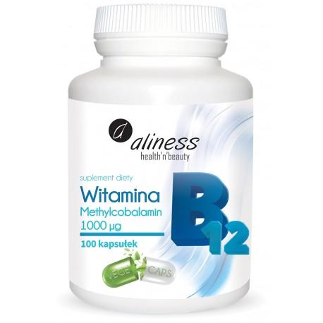 ALINESS  Witamina B12 Methylcobalamin 1000µg