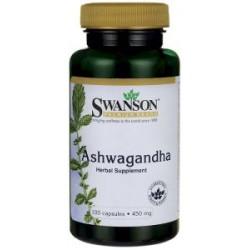 SWANSON ASHWAGANDHA - 450mg/100kaps