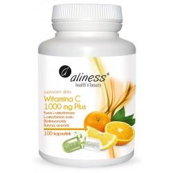 ALINESS Witamina C 1000 mg Acerola PLUS 100 kaps