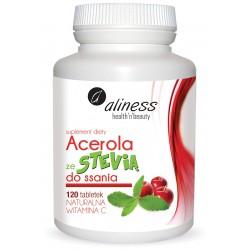 ALINESS ACEROLA ZE STEVIĄ 120 tabletek