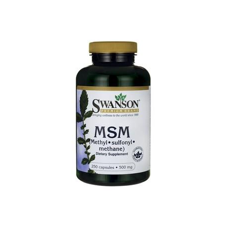 SWANSON MSM - 500mg/250kaps