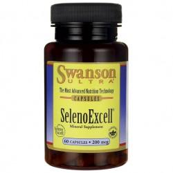 SWANSON SelenoExcell 200mcg 60kaps