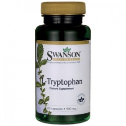 SWANSON L-Tryptophan 500mg 60kaps