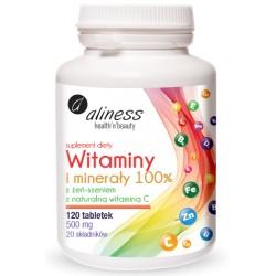 Aliness witaminy i minerały