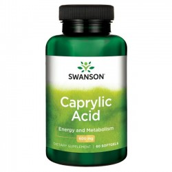 SWANSON Caprylic Acid