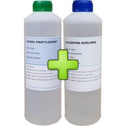 Gliceryna Roślinna 99,8% + Glikol 1,2 propylenowy 99,9%